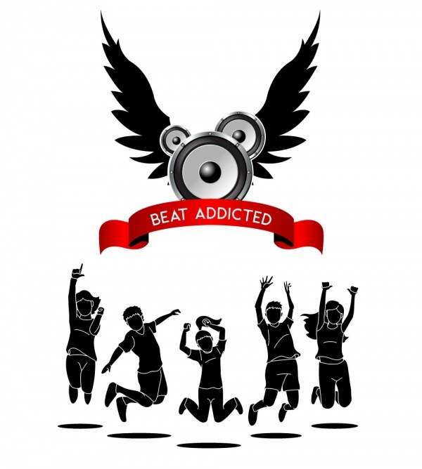 Beat Addicted Logo Draft 4