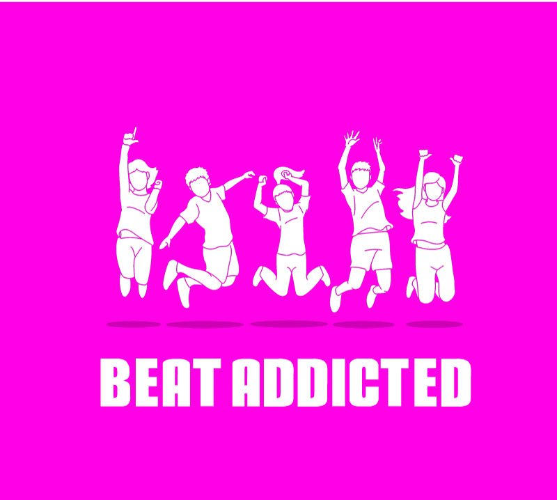 Beat Addicted Logo Concept Draft