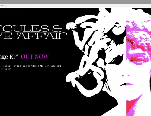 Web Development, Design and New Single Promotion for Hercules And Love Affair!
