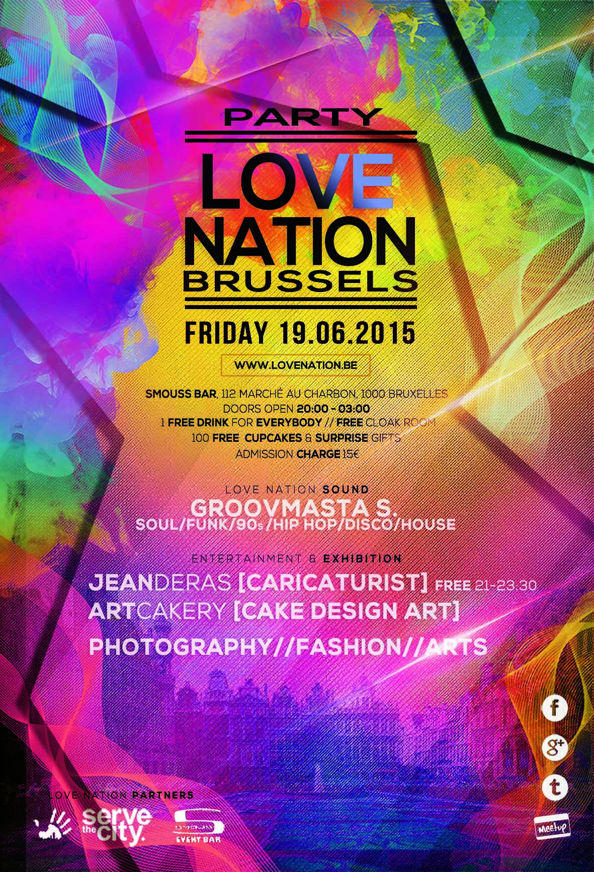 Love Nation Flyer