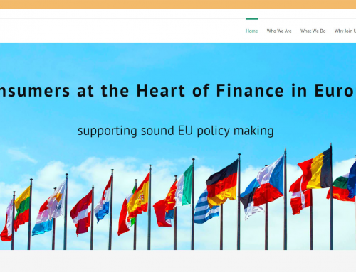 Web Development and Branding for European Retail Finance Forum