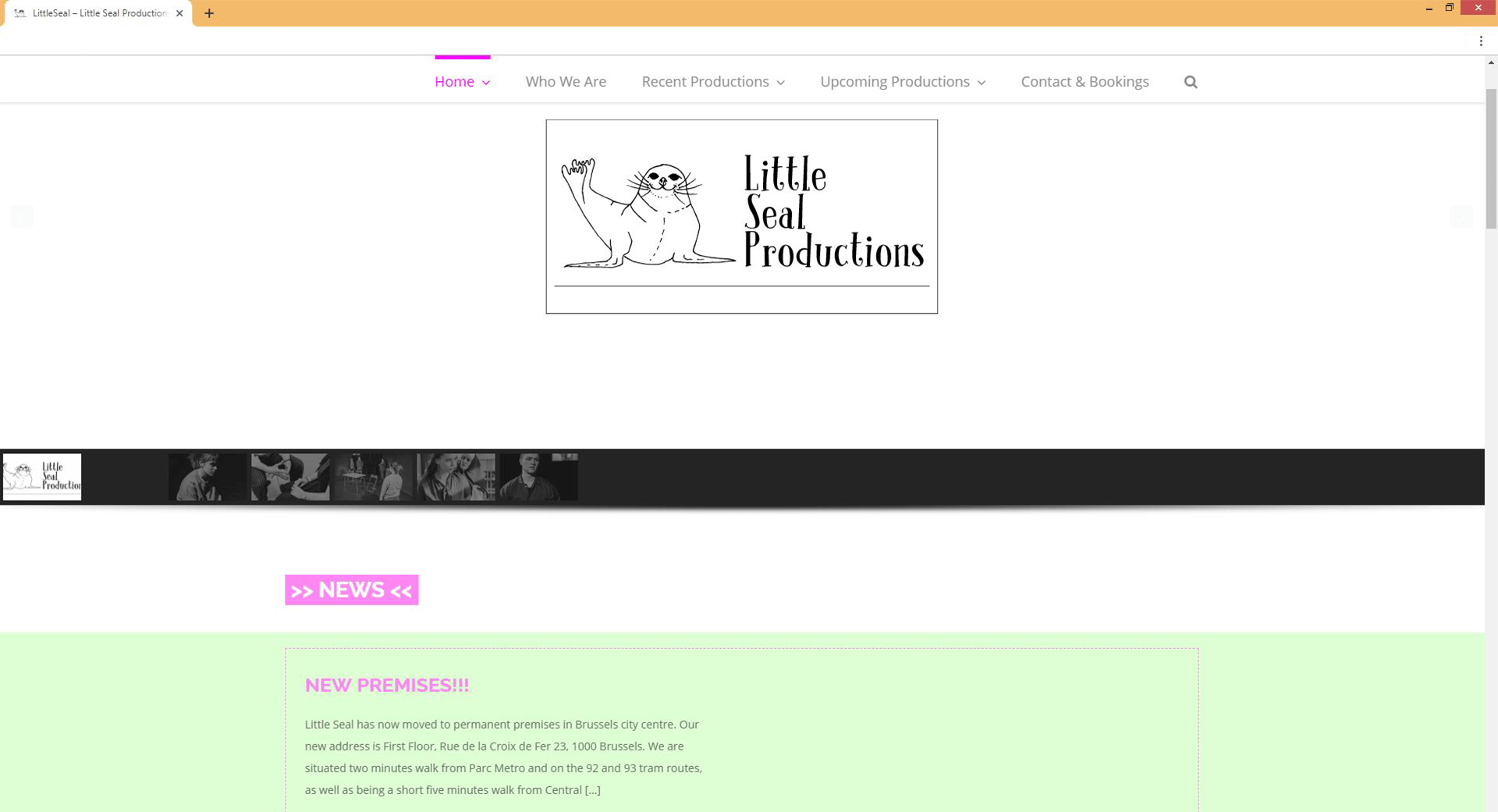 LittleSeal homepage