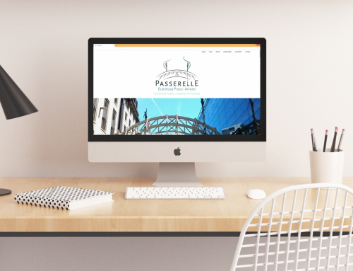 Website for Passerelle Public Affairs