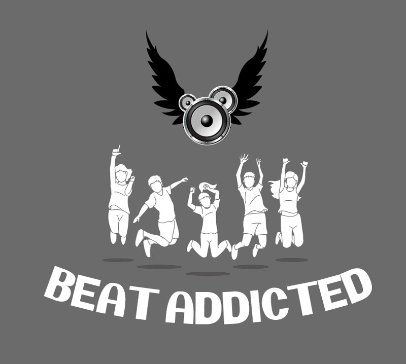 Beat Addicted Logo Concept Draft,